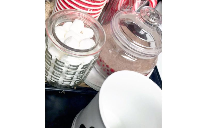 DIY: Hot Chocolate Bar for under $10!