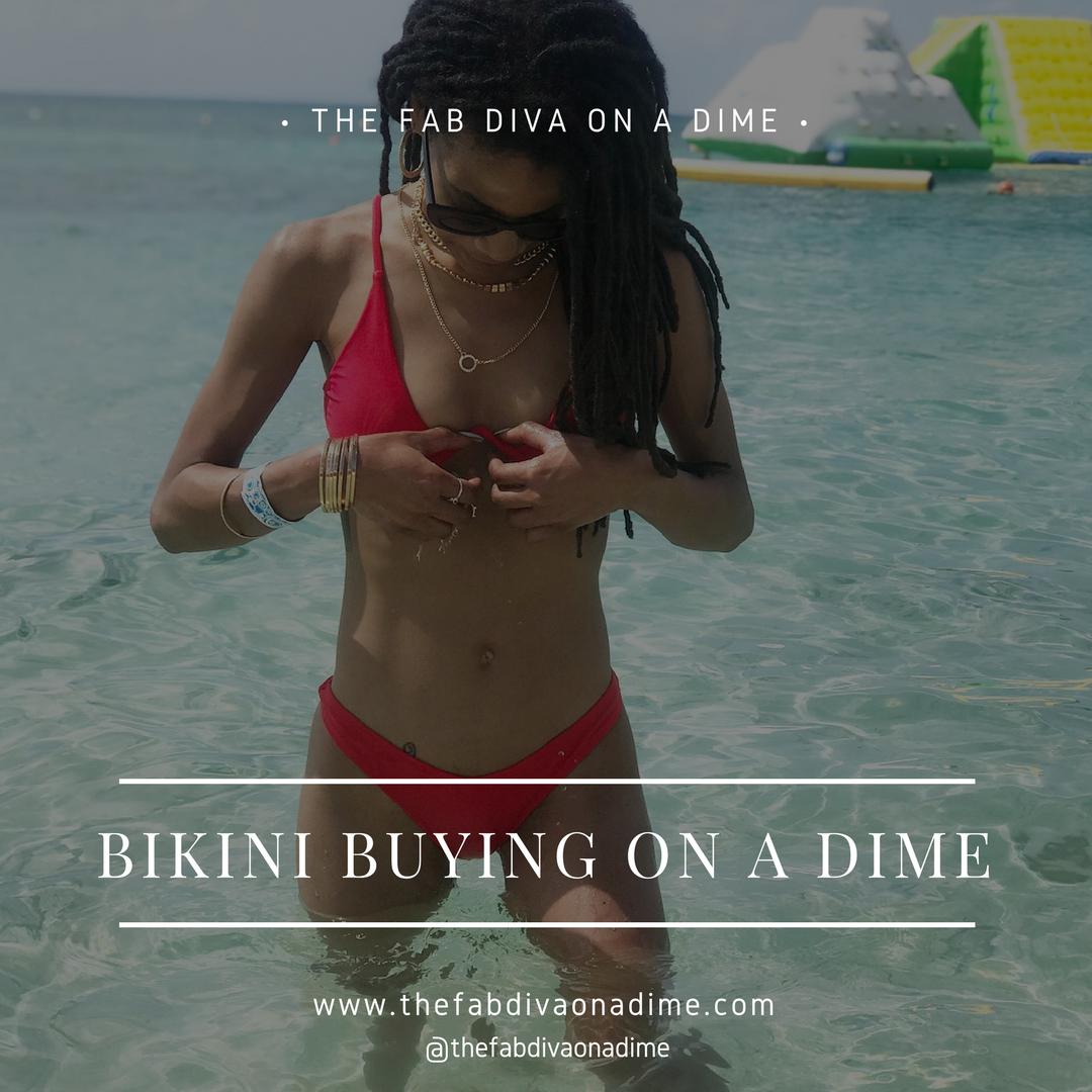 My Bikini Buying Guide on a Dime!