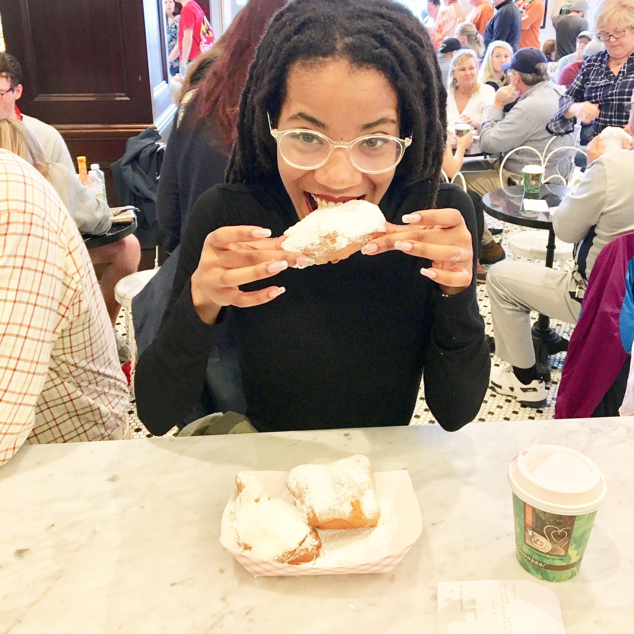 Food Finds: Cafe Beignet in New Orleans, LA